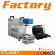 IPG 10W jewellery fiber laser marking machine,button laser marker,diode laser marking