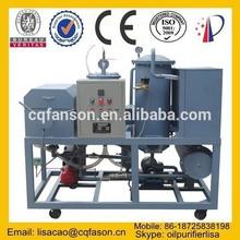 Economical portable small transformator oil purification plant