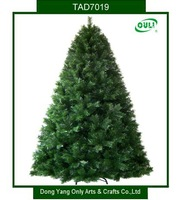 Green XMAS Christmas Tree 210cm 1500 Tips PVC Brand New Home Decoration