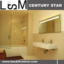 Environment protecting silver mirror, strong anti-oxidation, Decorative wall mirror , Back light mirror