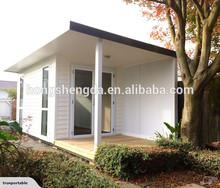 prefab insulated modern mobile portable office log cabin