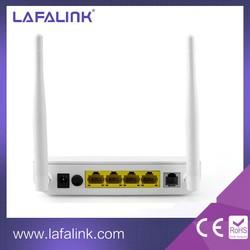 ADSL splitter OEM 300Mbps 4 Lan ports 2T2R wireless router adsl modem