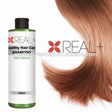 Real + shampoo hair growth shampoo customized your own brand