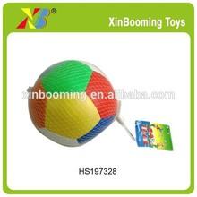 5' leather ball stress ball