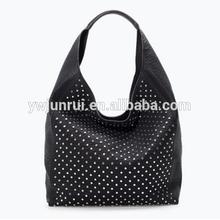 china supplier adult women's pu imitation brand handbag