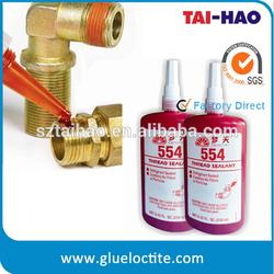 Anaerobic Liquid Pipe Thread Sealant , industrial liquid thread sealant 554