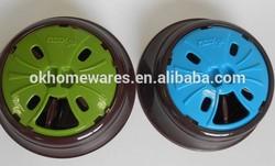 New design plastic suction cup pet bowl