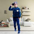 Kiki Yang directo de fábrica de nueva de corea del invierno caliente suéter de moda para hombres y niño de los niños