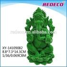 Resin flocked ganesh idols