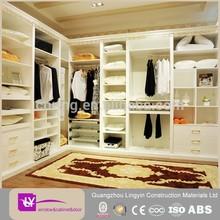 Wholesale latest bedroom closet wood wardrobe cabinets