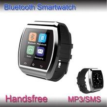 Metal border smart health watch Bluetooth smart watch 2014 smart watch wholesale price