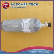 9L Carbon fiber scuba gas cylinder, High pressure gas cylinder, composite gas cylinder