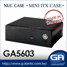 GA5603 -nuccases for intel nuc mini pc horizontal computer case