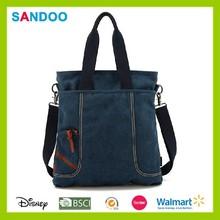 Hotsale tote bag custom big colorful canvas new hand bag women 2014