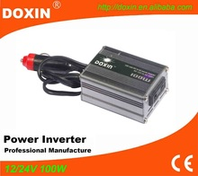 Small modified sine wave 100 watt dc to ac power inverter