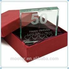 Melhor retorno presentes da festa de aniversário lembrança para 50th anos de idade