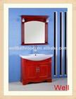 Sanitary ware wood bathroom cabinet 1036