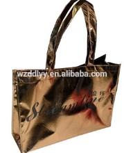 pp non woven laser bag /fashion laser tote bag
