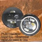 7 round headlight, 7 inch round led headlight 12v 24v, 7 halo headlight