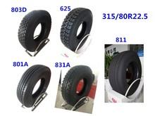 Good quality Super single radial tubeless truck tire 315/80R22.5-20PR