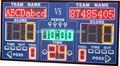 Novos produtos 2014 1800*950*75 tamanho sem fio de basquete aluguer levou placar