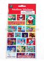 3d lenticular tarjeta de navidad, 3d hoja lenticular
