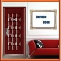 Fabricante profesional de metal para los números de puerta/plana exterior de la puerta/llanura puerta de acero