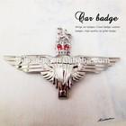 High quality car badges, zinc alloy metal 3D Big wings Car Badge