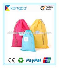 Custom promotional cotton gym sack drawstring bag drawstring shopping bag drawstring packing bag