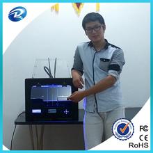 Home desktop easy operating 3d printer for multi-shape samples making