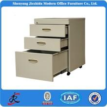 3 drawers filing cabinet locker, steel cabinet, smooth slide