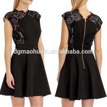Senhoras elegantes fit e reflexos curtos vestidos de festa para senhoras