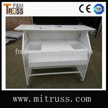 Mobile folding bar counter
