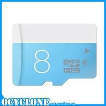 Original import memory cards china 8GB TF Card for samsung