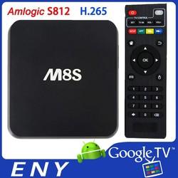 S812 H.265, 4K, xbmc UHD amlogic S812 android tv box, get rid of M8 now, xbmc Amlogic S812 box