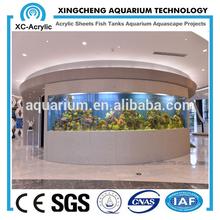 acrylic /plastic aquarium