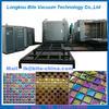 Ceramic glass mosaic gold plating machine / ceramic glass mosaic gold coating machine