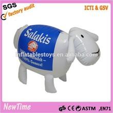 inflatable animal sheep shape toys