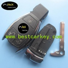 Topbest New model for cover key mercedes 3 button mercedes key shell