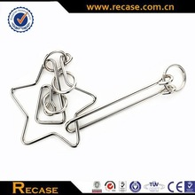Customize logo printing acceptable metal puzzle,folding games