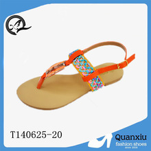 pu upper and tpr outsole sandals girls fancy footwear