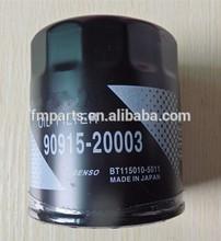 Genuine auto/truck/car Oil Filter 90915-20003 For Toyota