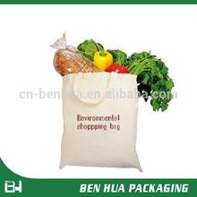 Best Selling Natural Custom Print Cotton Shopping Bag