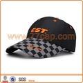 Singular gorra de béisbol de la tela de poliéster, personalizado bordado del logotipo impreso con visera