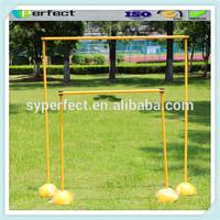 Promotion Portable Plastic Pipe Base Clip Nail Football Goal Bar