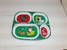 Children's plastic print plate