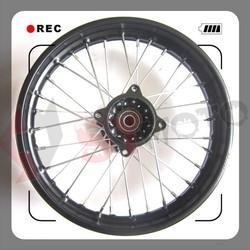high quality 1.85X14''steel motorcycle wheels