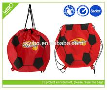 Recycle reusable foldable customized travel bag shop drawstring tote bag
