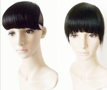good quality straight doubel side swept fringe bang hair experienced manufacturer