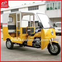 KAVAKI Own Model As Indian Bajaj Model China Passenger Three Wheeled Electric Kick Bicycle Taxi